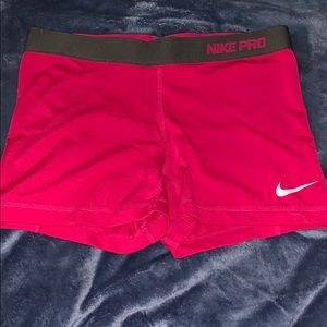 Nike Pro Spandex.